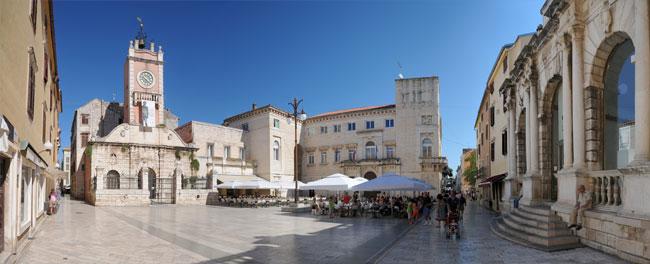 Narodni Square, Zadar