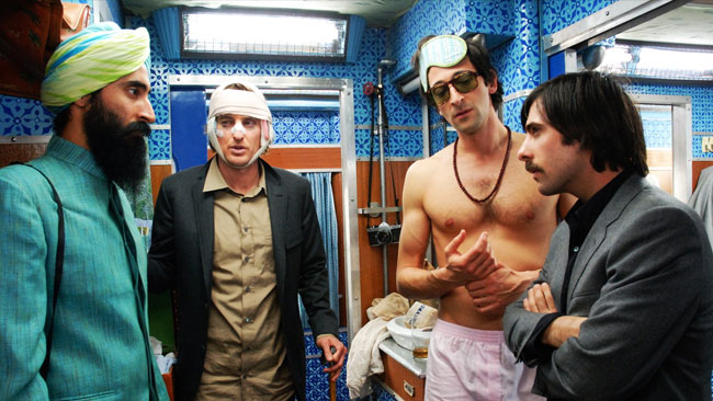 travel movies: The Darjeeling Limited (2007)