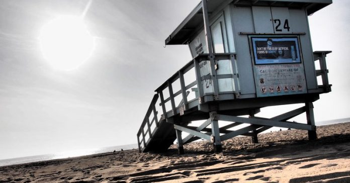 Lifeguard Station Los Angeles, CA