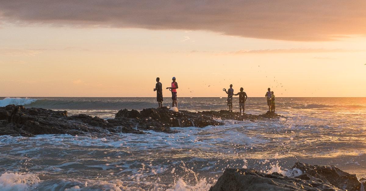 people fishing in santa teresa costa rica