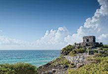 Tulum Ruins on the Caribbean Coast