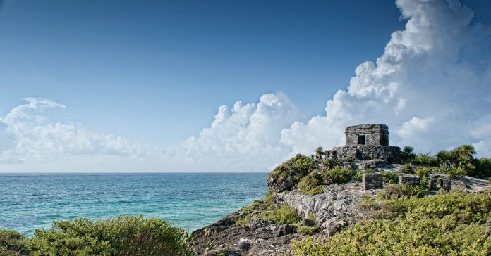 Tulum Ruins on the Caribbean Coast