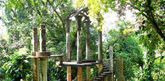 Bamboo Palace in Las Pozas Mexico