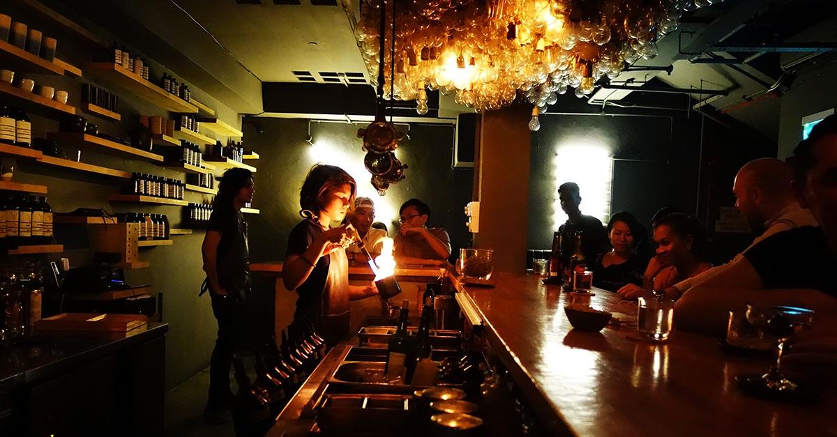Operation Dagger Bar in Singapore