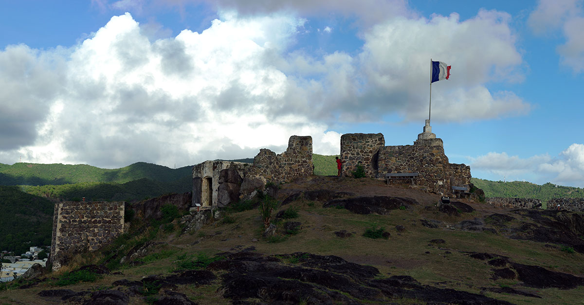 fort louis saint martin