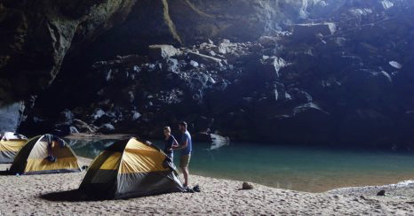 extreme sports caving asia