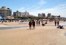 Pinamar beach argentina