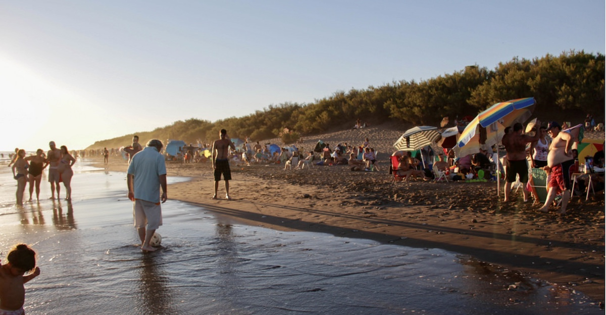 Pehuen-Co Beach argentina