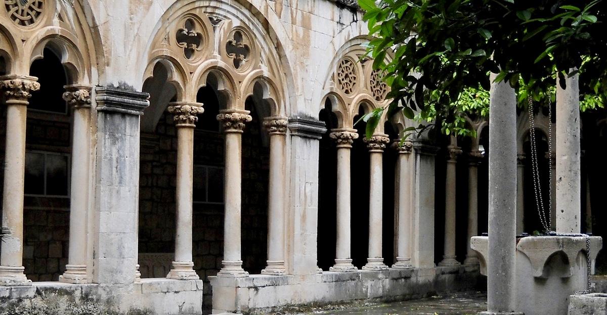 monastery dubrovnik croatia