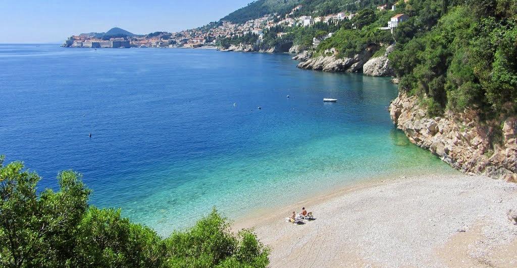 Sveti Jakov beach dubrovnik croatia