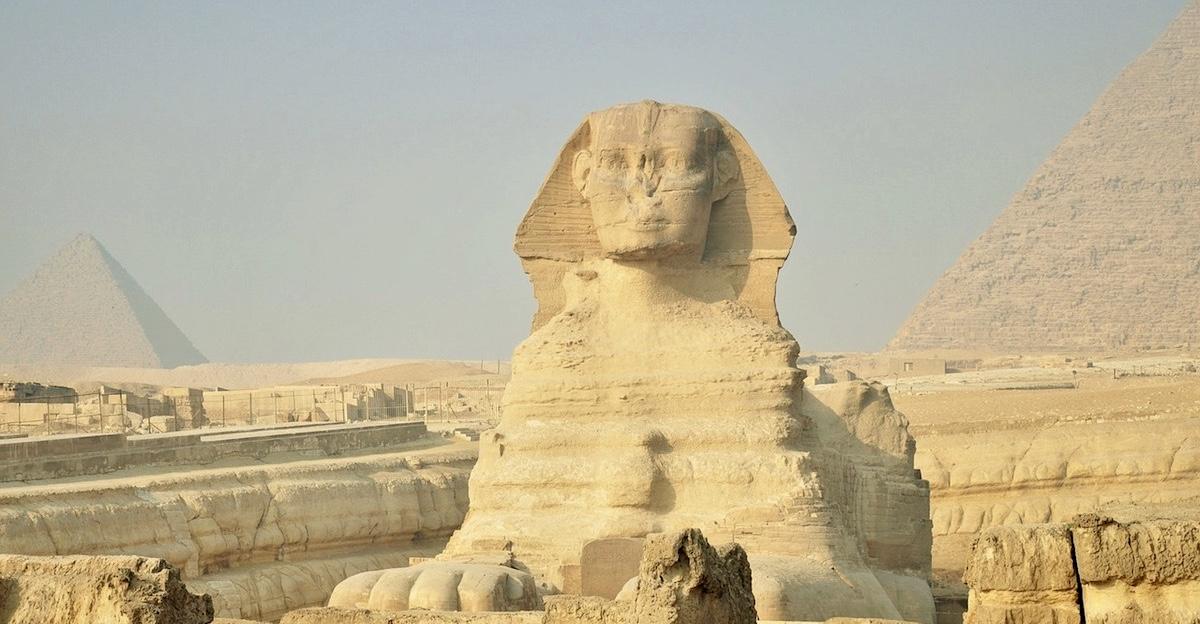The Sphinx Cairo Egypt