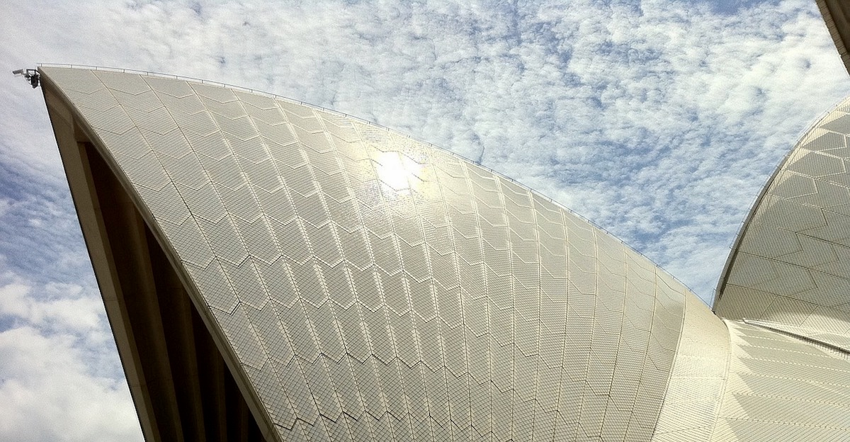 Roof of the Sydney Opera House