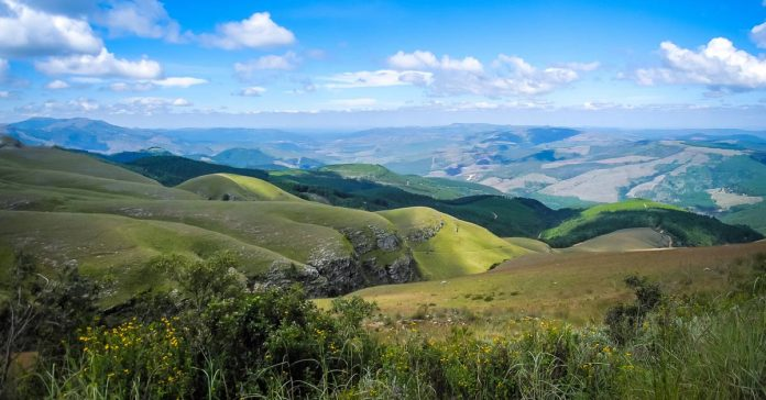 Vista of Mpumalanga South Africa