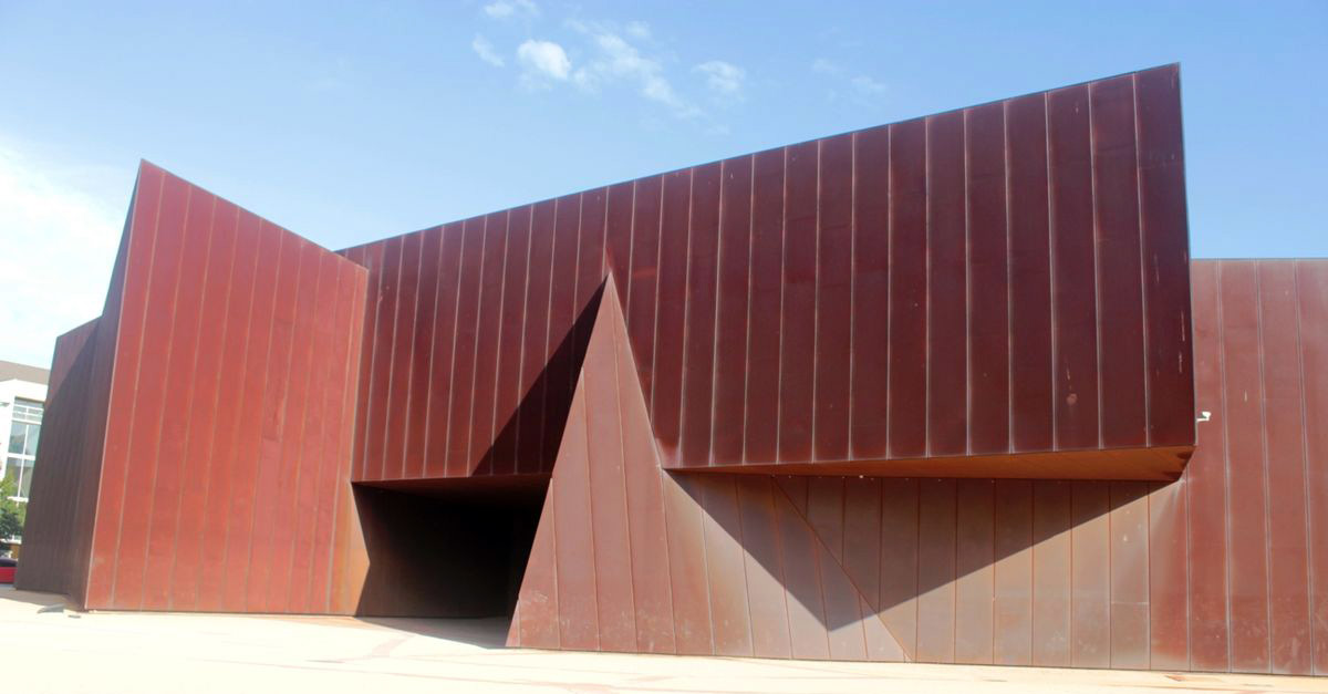 Outside view of the Australian Centre of Contemporary Art