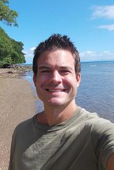 Photo of Ryan Biddulph on a beach