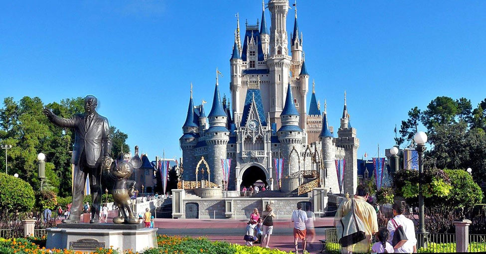 An image of Cinderella's Castle at Walt Disney World in Orlando, FL