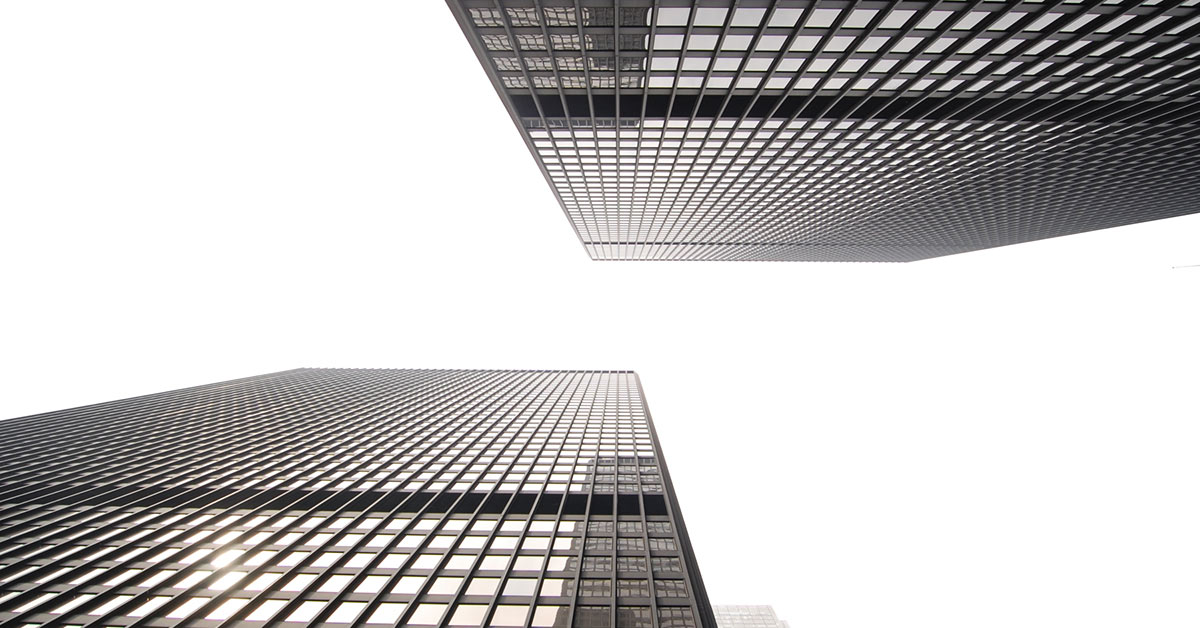 The TD Centre buildings in Toronto, Canada