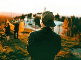 A travel blogger exploring a new destination
