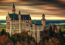 Neuschwanstein Castle in Germany. aTRAVELthing.com