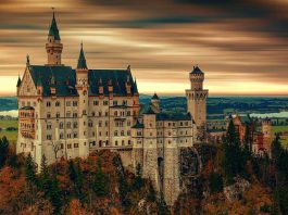 Neuschwanstein Castle in Germany. aTRAVELthing.com