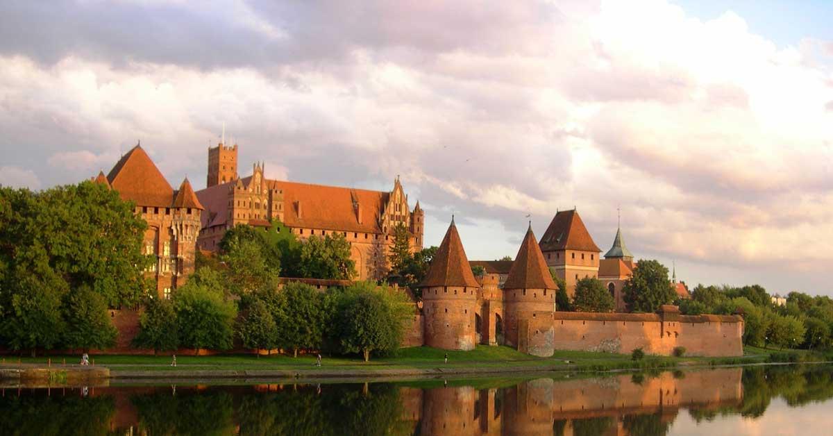 Malbork Castle in Poland. aTRAVELthing.com