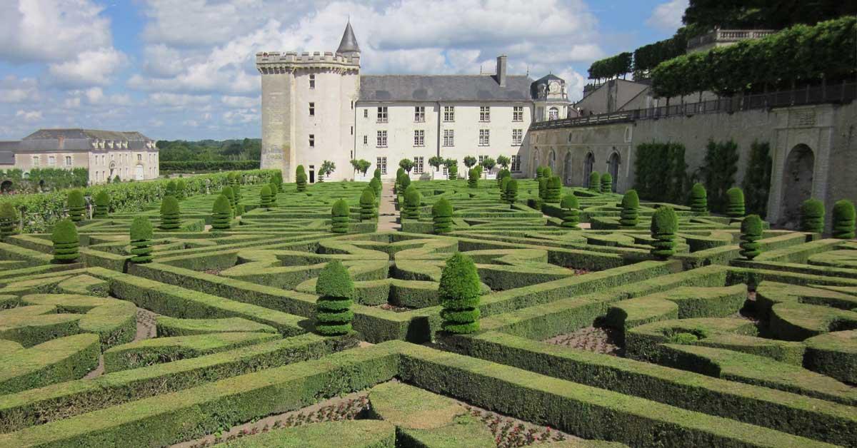 Villandry Castle in France. aTRAVELthing.com