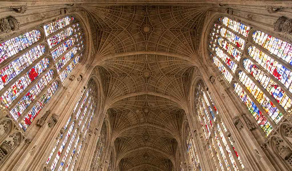 Architecture & Stained Glass Windows- Kings College