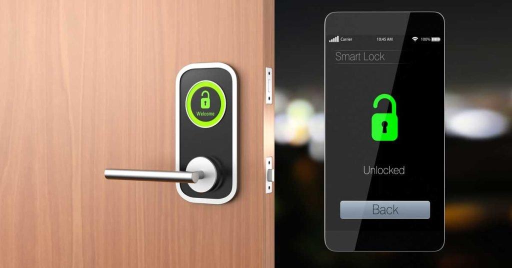 Using your smart phone to unlock your hotel room door